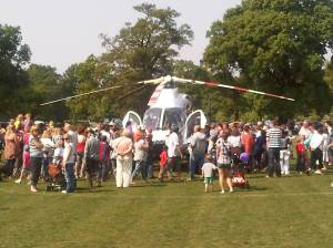Surrey Air Ambulance - Surrey Heath Show