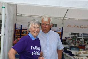 Lightwater Fete 2013 - Alan Meeks and Mike Hillman (10)