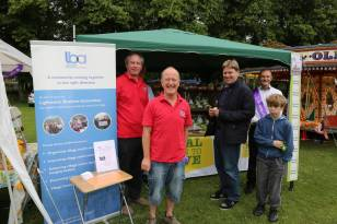 Lightwater Fete 2013 - Alan Meeks and Mike Hillman (18)