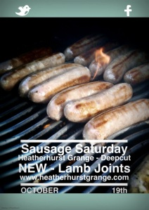 Heatherhurst Grange - Sausage Saturday - Oct 2013