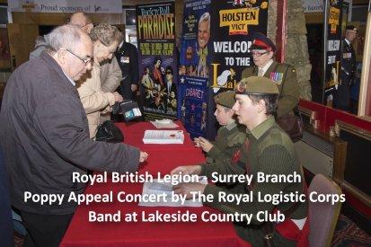 Mike Hillman British Legion Poppy Appeal Lakeside Image00001