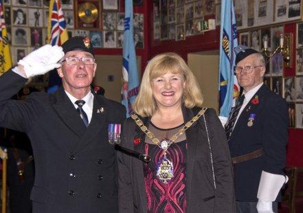 Mike Hillman British Legion Poppy Appeal Lakeside Image00046