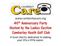 Camberley Care 40th Anniversary Party - Alan Meeks (1)