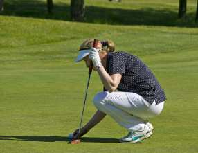 Citizens Advice Surrey Heath Charity Golf Day 2014 - Alan Meeks and Mike Hillman (10)