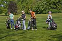 Citizens Advice Surrey Heath Charity Golf Day 2014 - Alan Meeks and Mike Hillman (11)
