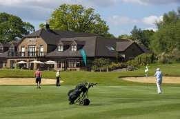 Citizens Advice Surrey Heath Charity Golf Day 2014 - Alan Meeks and Mike Hillman (17)