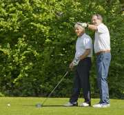 Citizens Advice Surrey Heath Charity Golf Day 2014 - Alan Meeks and Mike Hillman (21)