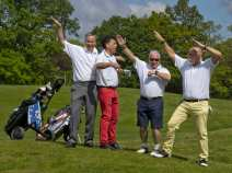 Citizens Advice Surrey Heath Charity Golf Day 2014 - Alan Meeks and Mike Hillman (23)