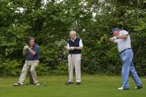 Citizens Advice Surrey Heath Charity Golf Day 2014 - Alan Meeks and Mike Hillman (24)