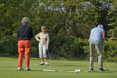 Citizens Advice Surrey Heath Charity Golf Day 2014 - Alan Meeks and Mike Hillman (3)