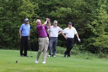 Citizens Advice Surrey Heath Charity Golf Day 2014 - Alan Meeks and Mike Hillman (30)