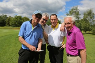 Citizens Advice Surrey Heath Charity Golf Day 2014 - Alan Meeks and Mike Hillman (32)