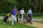 Citizens Advice Surrey Heath Charity Golf Day 2014 - Alan Meeks and Mike Hillman (34)