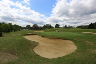 Citizens Advice Surrey Heath Charity Golf Day 2014 - Alan Meeks and Mike Hillman (35)