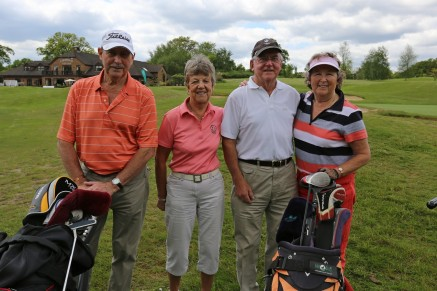 Citizens Advice Surrey Heath Charity Golf Day 2014 - Alan Meeks and Mike Hillman (36)