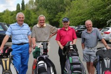 Citizens Advice Surrey Heath Charity Golf Day 2014 - Alan Meeks and Mike Hillman (40)