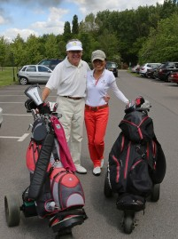 Citizens Advice Surrey Heath Charity Golf Day 2014 - Alan Meeks and Mike Hillman (41)