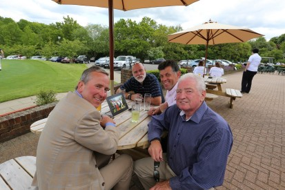 Citizens Advice Surrey Heath Charity Golf Day 2014 - Alan Meeks and Mike Hillman (49)
