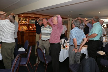 Citizens Advice Surrey Heath Charity Golf Day 2014 - Alan Meeks and Mike Hillman (62)