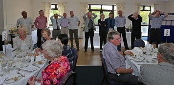 Citizens Advice Surrey Heath Charity Golf Day 2014 - Alan Meeks and Mike Hillman (65)