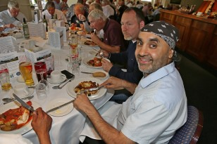Citizens Advice Surrey Heath Charity Golf Day 2014 - Alan Meeks and Mike Hillman (66)