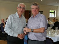 Citizens Advice Surrey Heath Charity Golf Day 2014 - Alan Meeks and Mike Hillman (76)