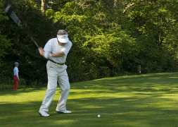 Citizens Advice Surrey Heath Charity Golf Day 2014 - Alan Meeks and Mike Hillman (8)