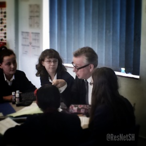 Michael Gove at Kings