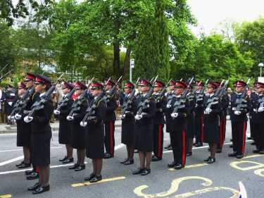 Freedom of thee Borough Parade - RMA - Windlesham and Camberley Camera Club (13)