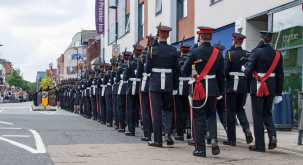 Freedom of thee Borough Parade - RMA - Windlesham and Camberley Camera Club (87)