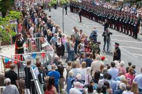 Freedom of thee Borough Parade - RMA - Windlesham and Camberley Camera Club (99)