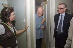 Michael Gove visit to the Surrey Heath Archaeology & Heritage Trust Centre - Mike Hillman (10)