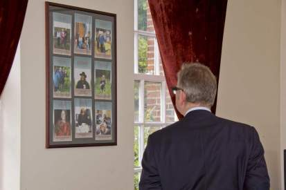 Michael Gove visit to the Surrey Heath Archaeology & Heritage Trust Centre - Mike Hillman (18)