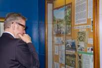 Michael Gove visit to the Surrey Heath Archaeology & Heritage Trust Centre - Mike Hillman (19)