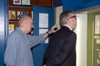 Michael Gove visit to the Surrey Heath Archaeology & Heritage Trust Centre - Mike Hillman (20)