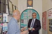 Michael Gove visit to the Surrey Heath Archaeology & Heritage Trust Centre - Mike Hillman (21)