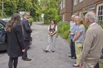 Michael Gove visit to the Surrey Heath Archaeology & Heritage Trust Centre - Mike Hillman (24)