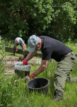 Canal volunteers, Lock 15 (3)
