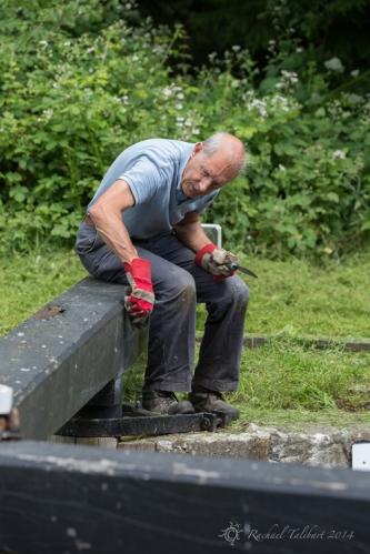 Canal volunteers, Lock 15 (4)
