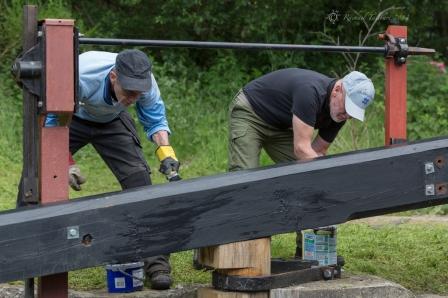 Canal volunteers, Lock 15 (5)