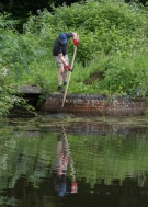 Canal volunteers, Lock 15 (6)