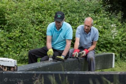 Canal volunteers, Lock 15 (1)