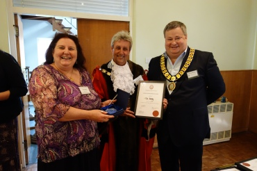 Windlesham Parish Council Community Reception 2014 - Tim Dodds (2)