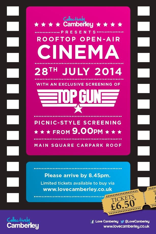Roof Top Cinema 2014 - Top Gun