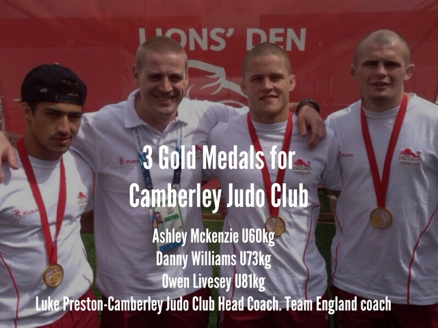 Gold - Camberley Judo Club