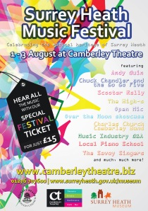 Surrey Heath Music Festival 2014