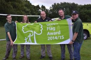 Frimley Lodge Park - Green Flag Award 2014