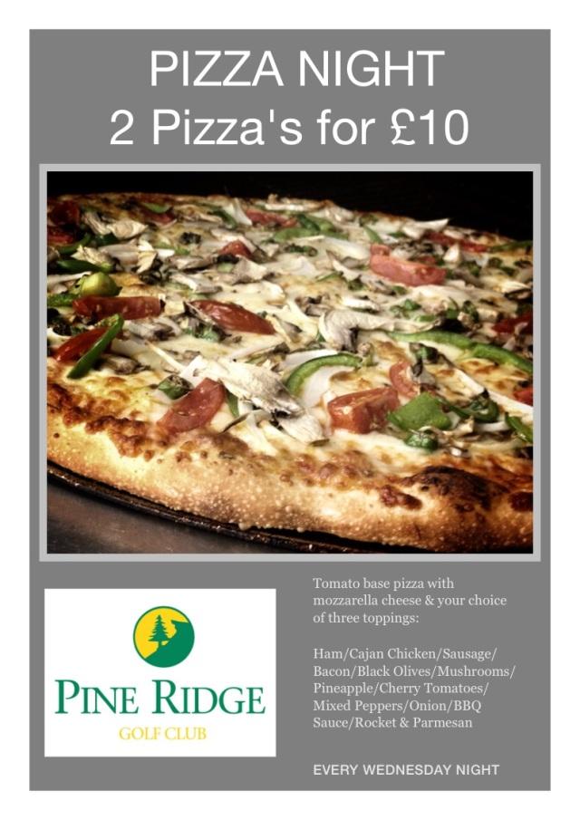 Pizza Night at Pine Ridge - Summer 2014