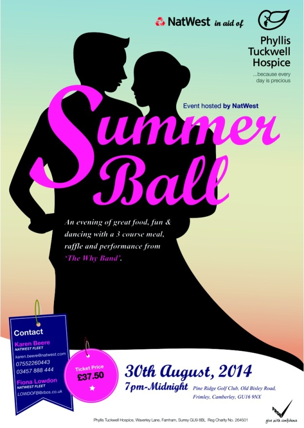 Natwest Summer Ball - Pine Ridge - Phyllis Tuckwell