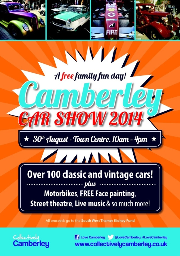 Camberley Car Show 2014